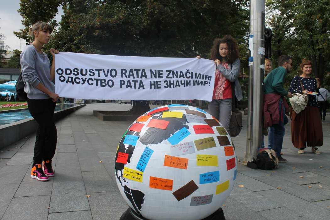 """""""Odsustvo rata ne znači mir"""" – Međunarodni dan mira"""