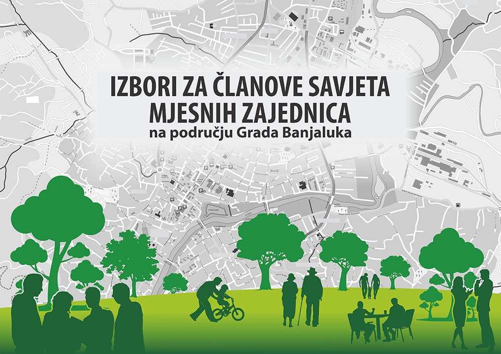 Izbori za članove savjeta mjesnih zajednica na području Grada Banjaluka