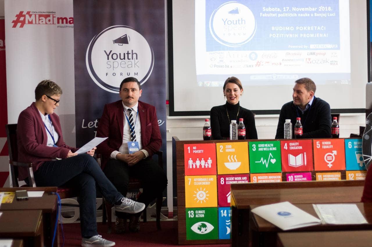 Održan Youth Speak Forum u Banjoj Luci